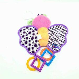 Igračka za bebe zvečka leptir Playgro (1)