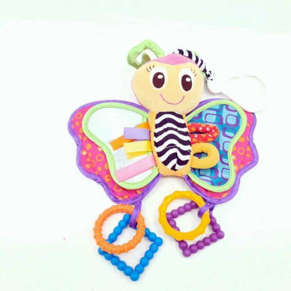 Igračka za bebe zvečka leptir Playgro (2)