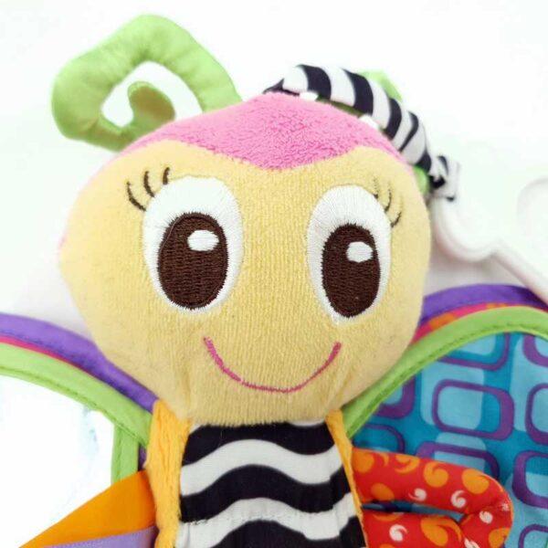 Igračka za bebe zvečka leptir Playgro (3)