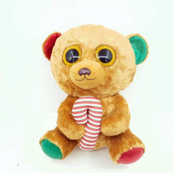 Medved Novogodišnji TY 50 cm (2)