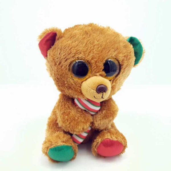 Plišana igračka novogodišnji medved TY (2)