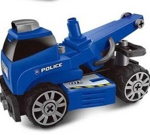 Policijski auto na rasklapanje 4 u 1 (8)