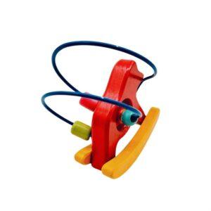 Drvena igračka mali konj lavirint (1)