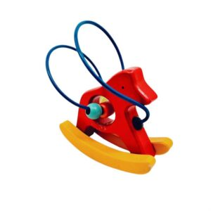 Drvena igračka mali konj lavirint (3)