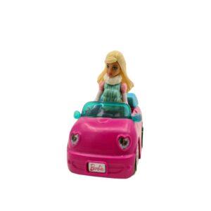 Mini auto sa Barbie lutkom na baterije Mattel (2)